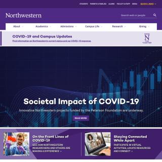 Northwestern University  website