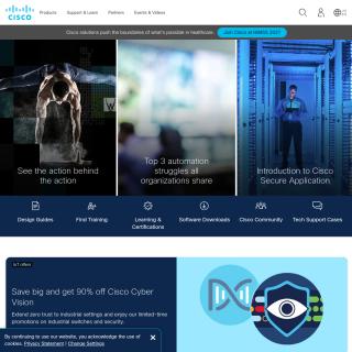 Cisco Systems, Inc.  aka (Cisco)  website