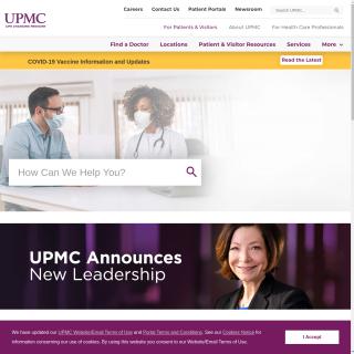 UPMC AS122  aka (University of Pittsburgh Medical Center)  website