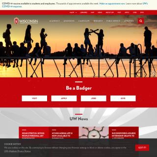University of Wisconsin - Madison  website