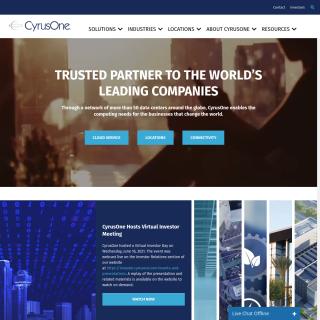 CyrusOne  website