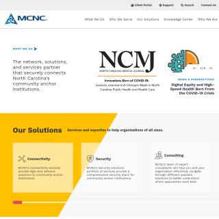 MCNC  aka (NCREN)  website